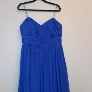 Alfred Angelo Long Blue Dress Size 16